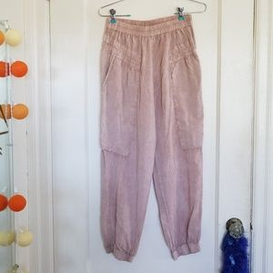 Pink Odells Slouchy Pants